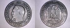 Buy 1854-W French 2 Centimes World Coin - France - Napoleon III
