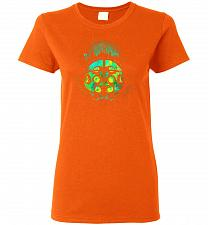 Buy Face Of Rapture Unisex T-Shirt Pop Culture Graphic Tee (2XL/Orange) Humor Funny Nerdy