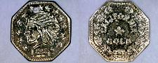 Buy Fantasy 1852 California Gold 1/4 Token - No Precious Metal Content