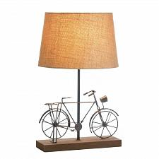 Buy *17902U - Old-Fashion Bicycle Burnished Iron Sculpture Table Lamp w/Shade