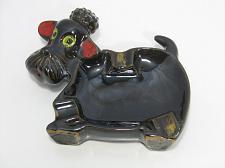 Buy Shafford Redware Black Poodle Dog Ashtray Vintage Smoker Japan