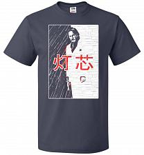 Buy John Wick Scarface Mashup Adult Unisex T-Shirt Pop Culture Graphic Tee (2XL/J Navy) H
