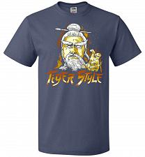 Buy Tiger Style Unisex T-Shirt Pop Culture Graphic Tee (S/Denim) Humor Funny Nerdy Geeky