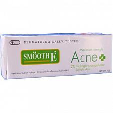 Buy Smooth E Maximum Strength Rapid Action Salicylic Acid Hydrogel Acne Gel 7 grams