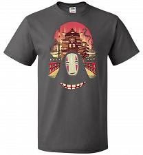 Buy Welcome to the Magical Bathhouse Unisex T-Shirt Pop Culture Graphic Tee (XL/Charcoal
