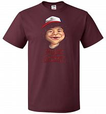Buy Trust In Dustin Unisex T-Shirt Pop Culture Graphic Tee (3XL/Maroon) Humor Funny Nerdy