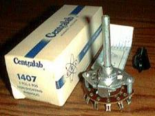 Buy CENTRALAB 1407 :: 3 POL 3 POS Open Frame Rotary Switch