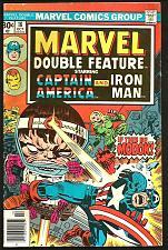 Buy Marvel Double Feature 18 Modok Capt. America Iron Man Comics Kirby Lee Colan AIM