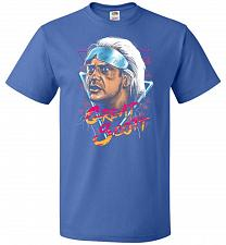 Buy Great Scott Unisex T-Shirt Pop Culture Graphic Tee (4XL/Royal) Humor Funny Nerdy Geek