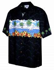Buy Men's Sailing Memories Aloha Shirt #440-3698
