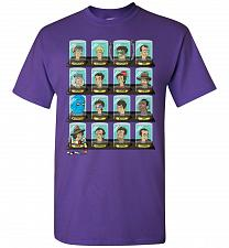 Buy Doctorama Unisex T-Shirt Pop Culture Graphic Tee (5XL/Purple) Humor Funny Nerdy Geeky