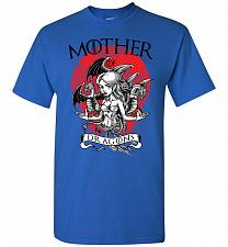 Buy Mother of Dragons Unisex T-Shirt Pop Culture Graphic Tee (XL/Royal) Humor Funny Nerdy