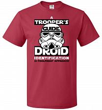 Buy A Trooper's GuideTo Droid Identification Unisex T-Shirt Pop Culture Graphic Tee (M/Tr