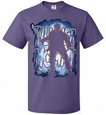 Buy Jason Voorhees Killer Mommy Adult Unisex T-Shirt Pop Culture Graphic Tee (4XL/Purple)