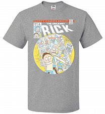 Buy Rick And Morty Days Comic Book Parody Unisex T-Shirt Pop Culture Graphic Tee (4XL/Ath