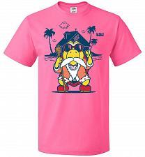 Buy Turtle Hermit Unisex T-Shirt Pop Culture Graphic Tee (S/Neon Pink) Humor Funny Nerdy