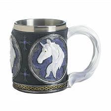 Buy *18045U - Magical White Unicorn Stainless Steel Lined Mug