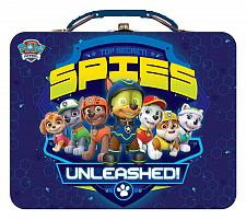 Buy :10835U - Paw Patrol Spies Unleashed Blue Lunch Style Tin Box