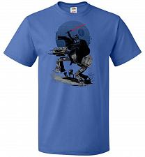 Buy Crossing The Dark Path Unisex T-Shirt Pop Culture Graphic Tee (2XL/Royal) Humor Funny
