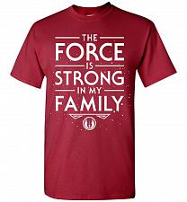 Buy Star Wars The Force Is Strong In My Family Unisex T-Shirt Pop Culture Graphic Tee (5X