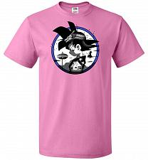 Buy Saiyan Quest Unisex T-Shirt Pop Culture Graphic Tee (6XL/Azalea) Humor Funny Nerdy Ge