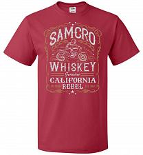 Buy Sons of Anarchy Samcro Whiskey Adult Unisex T-Shirt Pop Culture Graphic Tee (M/True R