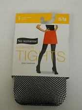 Buy Women Fishnet Tights SIZE S/M Solid Black NO NONSENSE Reinforced Panty