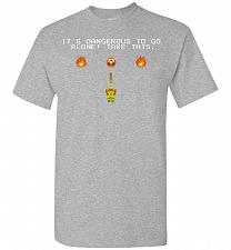 Buy It's Dangerous To Go Alone! Classic Zelda Unisex T-Shirt Pop Culture Graphic Tee (5XL