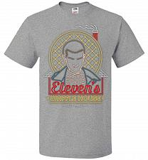 Buy Eleven's Waffle House Adult Unisex T-Shirt Pop Culture Graphic Tee (S/Athletic Heathe