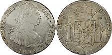 Buy 1808-PTS PJ Bolivia 8 Real World Silver Coin PCGS AU Details - CAROLUS IIII
