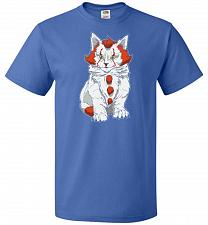 Buy kITten Unisex T-Shirt Pop Culture Graphic Tee (3XL/Royal) Humor Funny Nerdy Geeky Shi