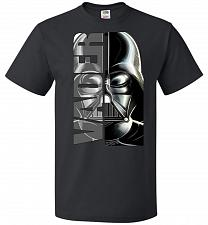 Buy Vader Youth Unisex T-Shirt Pop Culture Graphic Tee (Youth M/Black) Humor Funny Nerdy