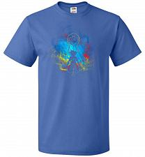 Buy Kingdom Art Unisex T-Shirt Pop Culture Graphic Tee (S/Royal) Humor Funny Nerdy Geeky