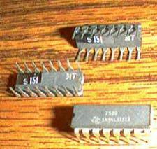 Buy Lot of 8: Texas Instruments SN54LS151J