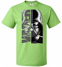 Buy Vader Youth Unisex T-Shirt Pop Culture Graphic Tee (Youth XL/Kiwi) Humor Funny Nerdy