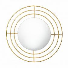 "Buy *18523U - Modern Gold 14"" Round Wall Mirror"