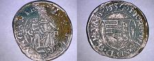 Buy 1536-KB Hungary 1 Denar World Silver Coin - Madonna with Child - Ferdinand I