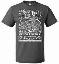 Buy Mayan Custom Bikes Sons Of Anarchy Adult Unisex T-Shirt Pop Culture Graphic Tee (S/Ch