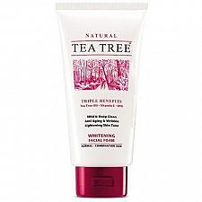 Buy Tea Tree Natural Whitening Facial Foam Cleanser Face Wash 140ml