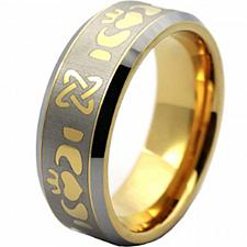 Buy coi Jewelry Tungsten Carbide Mo Anam Cara Wedding Band Ring