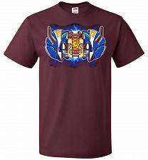 Buy Blue Ranger Unisex T-Shirt Pop Culture Graphic Tee (S/Maroon) Humor Funny Nerdy Geeky