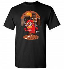 Buy Flash Minion Unisex T-Shirt Pop Culture Graphic Tee (M/Black) Humor Funny Nerdy Geeky
