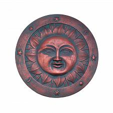 """Buy *17193U - Smiling Sun Weathered 10 1/2"""" Cement Garden Stepping Stone"""