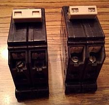 Buy Lot of 2: Cutler-Hammer 2 Pole Circuit Breakers :: 30A + 40A