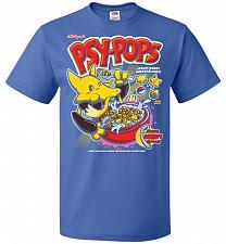 Buy Alakagam's Psy-Pops Unisex T-Shirt Pop Culture Graphic Tee (XL/Royal) Humor Funny Ner