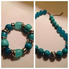 Buy beaded necklace & bracelet