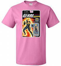 Buy GI KAI Unisex T-Shirt Pop Culture Graphic Tee (5XL/Azalea) Humor Funny Nerdy Geeky Sh