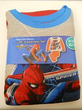 Buy Boys 2 PC Flannel Pajama Set SPIDERMAN Size 10/12 Crew Neck Long Sleeves Sleepwe