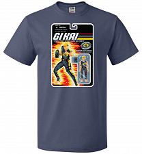 Buy GI KAI Unisex T-Shirt Pop Culture Graphic Tee (5XL/Denim) Humor Funny Nerdy Geeky Shi