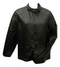 Buy Motorcycle Jacket Womens PLUS SIZE 2X LAURA LANE Black Zip Front Zip Pockets